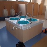 オリジナル手洗い場製作設置